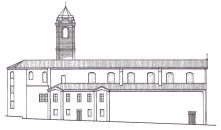 Vista laterale Basilica